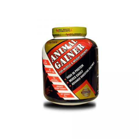 Animal Booster Nutrition, Mega Mass, Advance Weight Gainer, 3 KG