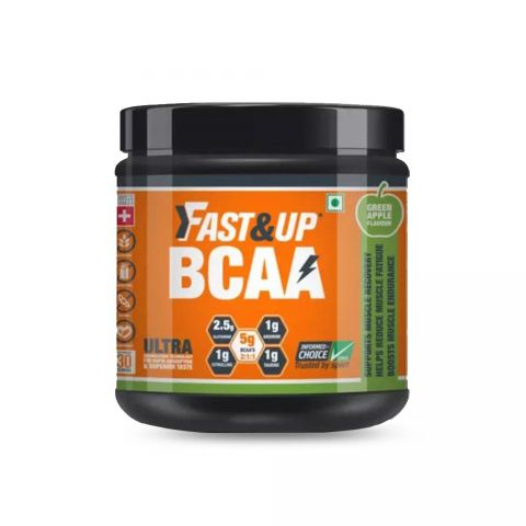 Fast&Up BCAA Jar of 30 servings (GREEN APPLE)