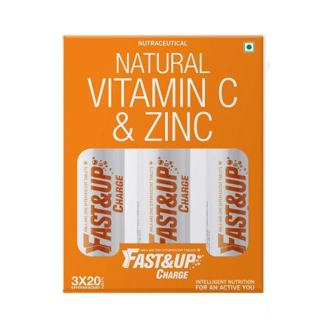 Fast&Up Charge - Vitamin C - Zinc 60 TABLETS