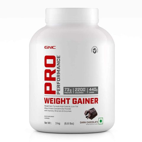 GNC Pro Performance Weight Gainer Double Chocolate