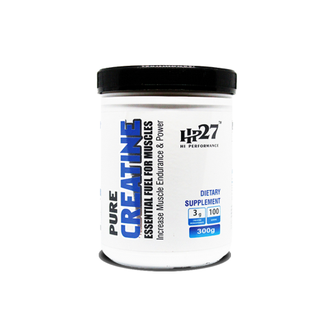 HP27 HI PERFORMANCE, PURE CREATINE, PRE-WORKOUT, UNFLAVORED