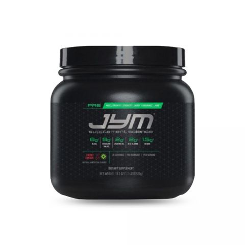 JYM SUPPLEMENT SCIENCE, PRE JYM, Pre-Workout-CHERRY LIMEADE