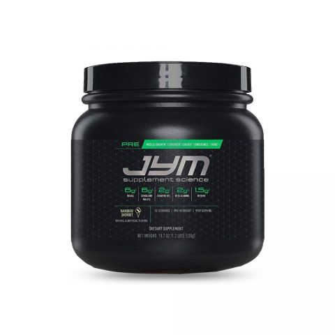 JYM SUPPLEMENT SCIENCE, PRE JYM, Pre-Workout-RAINBOW SHERBET