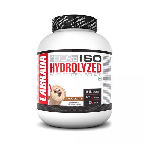 LABRADA, 100% Iso Hydrolysed, Whey Protein, 2kg, CHOCOLATE