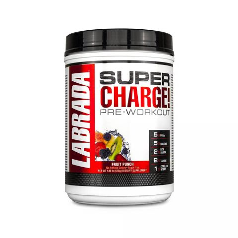 LABRADA, SUPER CHARGE (Pre-Workout), 675G-FRUIT PUNCH