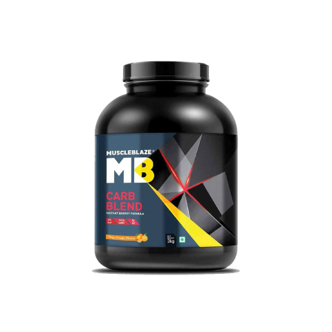 MuscleBlaze, Carb Blend, Nutrition Drink, 3 Kg, 6.6 LBS