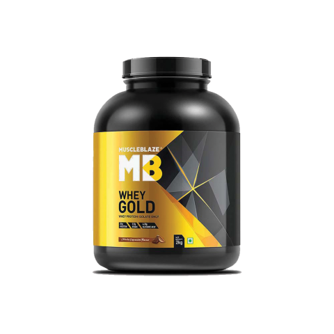 MuscleBlaze, Whey Gold, Whey Protein Isolate