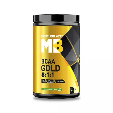 MuscleBlaze, BCAA Gold 8:1:1, 0.99 LBS, 30 SERVINGS