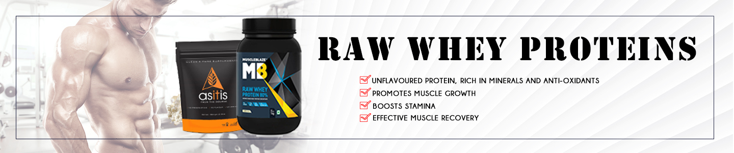 Raw Whey Proteins