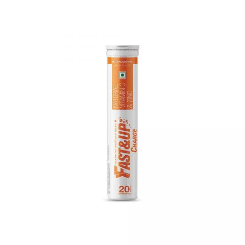 Fast&Up Charge -Tube of 20 Tabs Orange