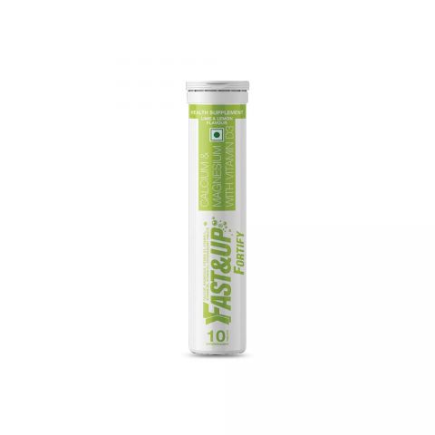 Fast&Up Fortify - Tube of 10 Tabs - Lime and Lemon