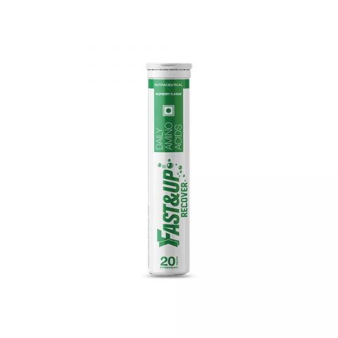 Fast&Up Recover Tube of 20 Tabs (Raspberry)