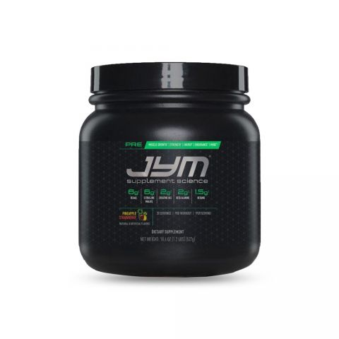 JYM SUPPLEMENT SCIENCE, PRE JYM, Pre-Workout-PINEAPPLE STRAWBERRY