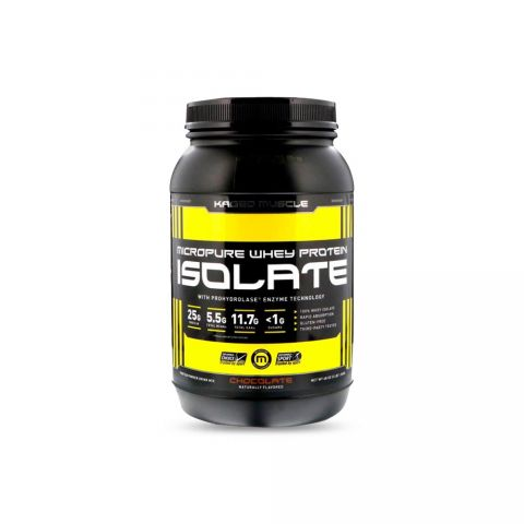 KAGED MUSCLE MICROPURE WHEY PROTEIN ISOLATE (CHOCOLATE)