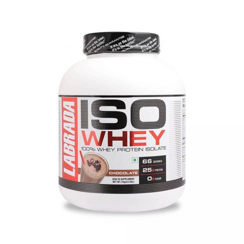 LABRADA, ISO 100% WHEY PROTEIN ISOLATE, 5 LBS, CHOCOLATE