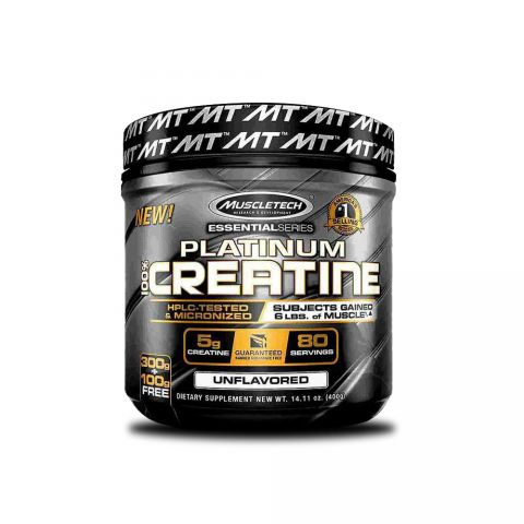 MUSCLETECH, Platinum 100% Creatine, 80 Servings, 400 G